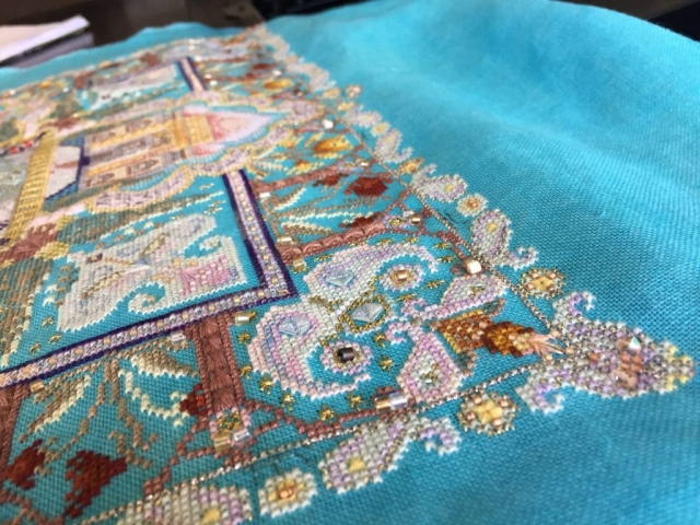 Taj Mahal Mandala by Katya Radenkov