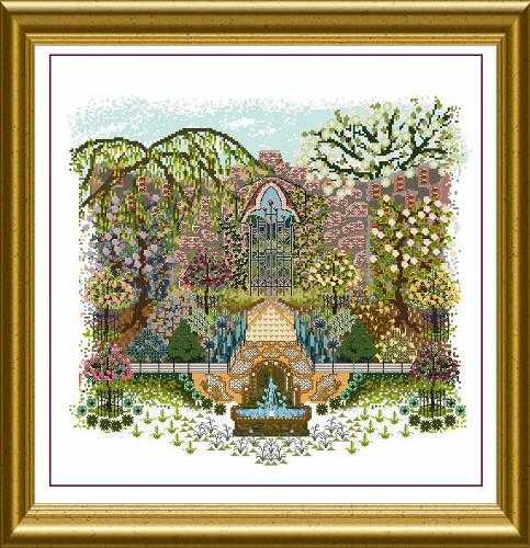 OF - Onl 130 - English Walled Garden