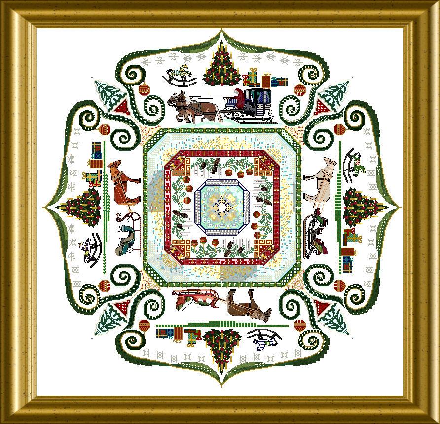 Xmas Mandala Mystery